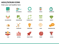 Agile SCRUM Icons PPT Slide 4