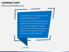 Learning Curve PPT Slide 1