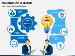 Management Vs Leader PPT slide 2
