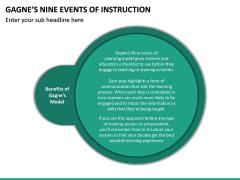 Gagne's Nine Events of Instruction PPT Slide 21