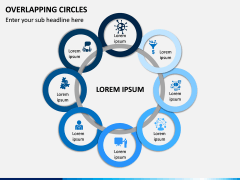Overlapping Circles PPT Slide 7