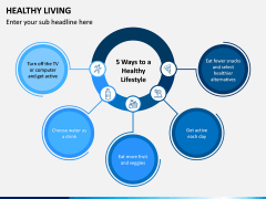 Healthy Living PPT Slide 10