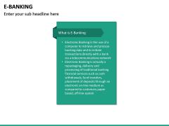 E-Banking PPT Slide 18