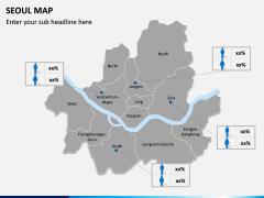 Seoul Map PPT Slide 9