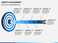 Target Achievement PPT slide 1