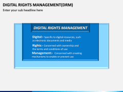 Digital Rights Management PPT Slide 2
