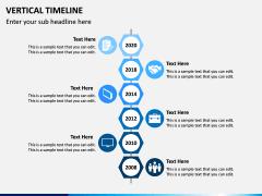 Vertical Timeline PPT Slide 2