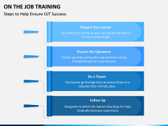 On the Job Training PPT Slide 8