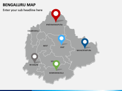 Bengaluru Map PPT Slide 5