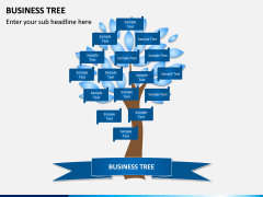 Business Tree PPT Slide 4
