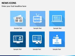 News Icons PPT Slide 1