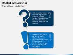 Market intelligence PPT slide 1