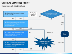 Critical Control Point PPT Slide 13