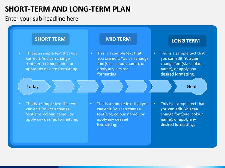 Short term vs short term