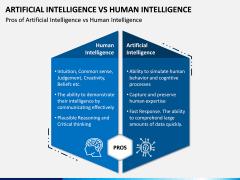 Artificial Vs Human Intelligence PPT Slide 1