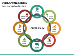 Overlapping Circles PPT Slide 25