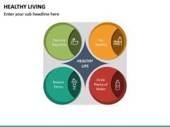 Healthy Living PPT Slide 19