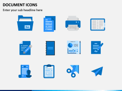 Document Icons PPT Slide 1