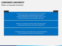Corporate University PPT Slide 1