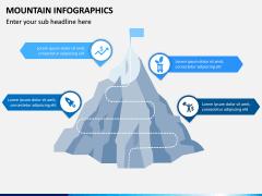 Mountain Infographics PPT Slide 13