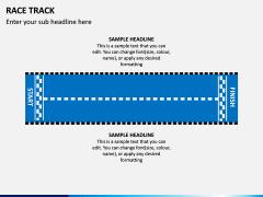 Race Track PPT Slide 1
