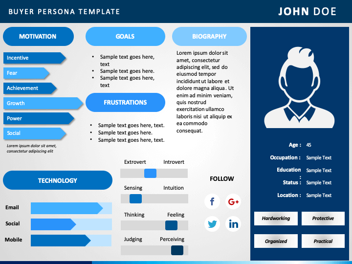 User Persona Template Free Download And How To Guide 4