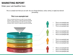 Marketing report PPT slide 22