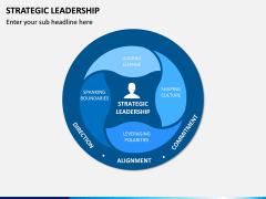 Strategic Leadership PPT Slide 1