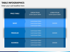 Table Infographics PPT Slide 10