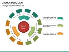 Circular ORG Chart PPT Slide 35