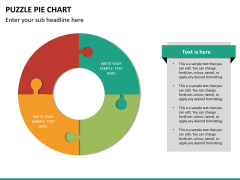 Puzzle pie chart PPT slide 20