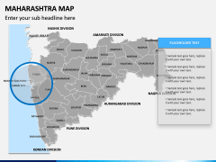 Maharashtra Map PPT Slide 7