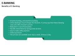 E-Banking PPT Slide 30