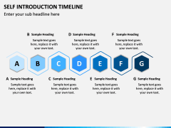 Self Introduction Timeline PPT Slide 6