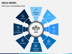 Skills Wheel PPT Slide 13