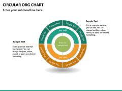 Circular ORG Chart PPT Slide 31