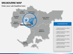 Melbourne Map PPT Slide 8