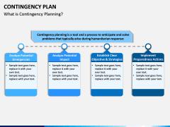 Contingency Plan PPT Slide 1