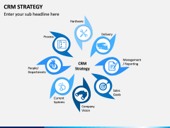 CRM Strategy PPT Slide 1