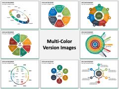 Circular Roadmap PPT Slide MC Combined