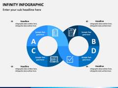 Infinity Infographics PPT Slide 4