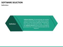 Software Selection PPT Slide 13