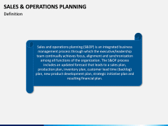 Sales and Operations Planning PPT Slide 2