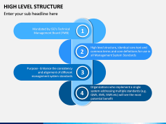 High Level Structure PPT Slide 2