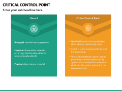 Critical Control Point PPT Slide 25