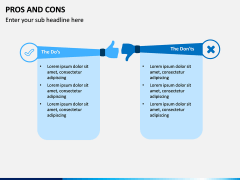 Pros and Cons PPT Slide 16