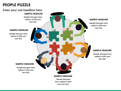 People Puzzle PPT Slide 13