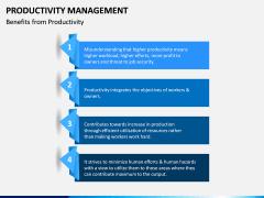 Productivity Management PPT Slide 11