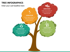 Tree Infographics PPT Slide 20