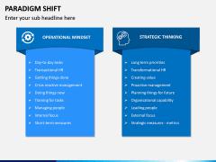 Paradigm Shift PPT Slide 12